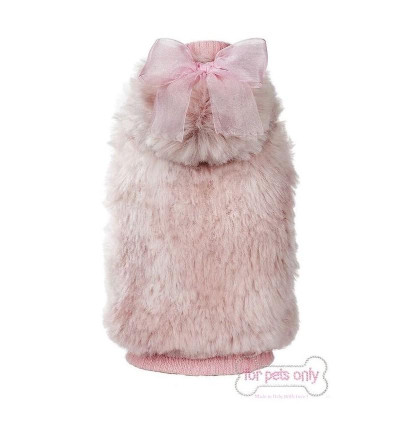 My Fur Bomber Pink