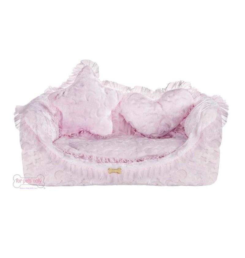 Good Night Cozy Pink Sofa