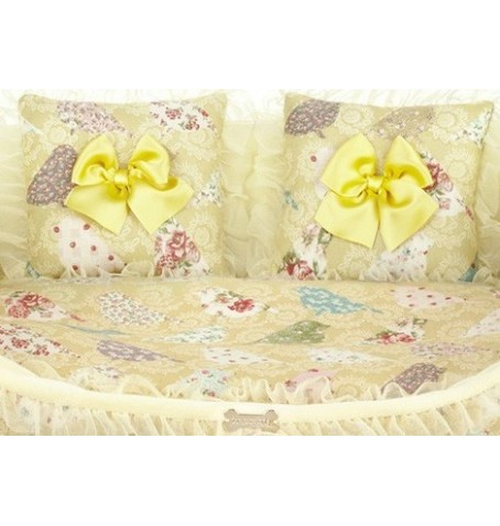 Just Cover Cozy Sofa Yellow