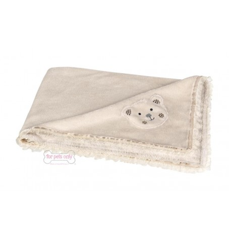 MY BEAR BEIGE CHENILLE COVER