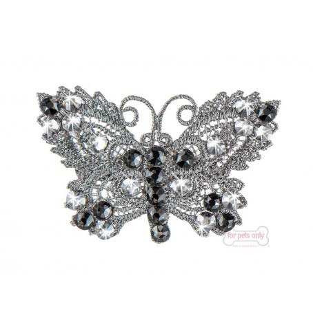 Silver Butterfly Hairclip
