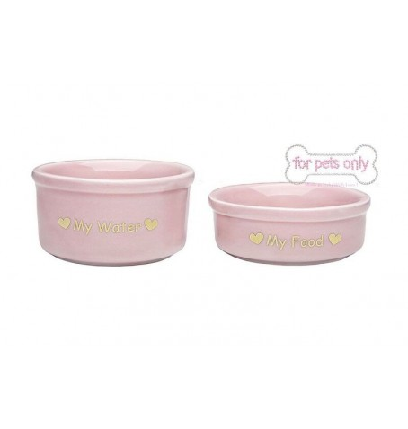 Teacup Bowl Set Pink