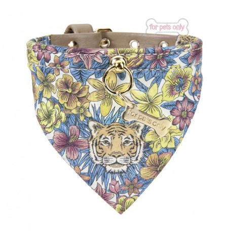 Tiger Bandana Collar