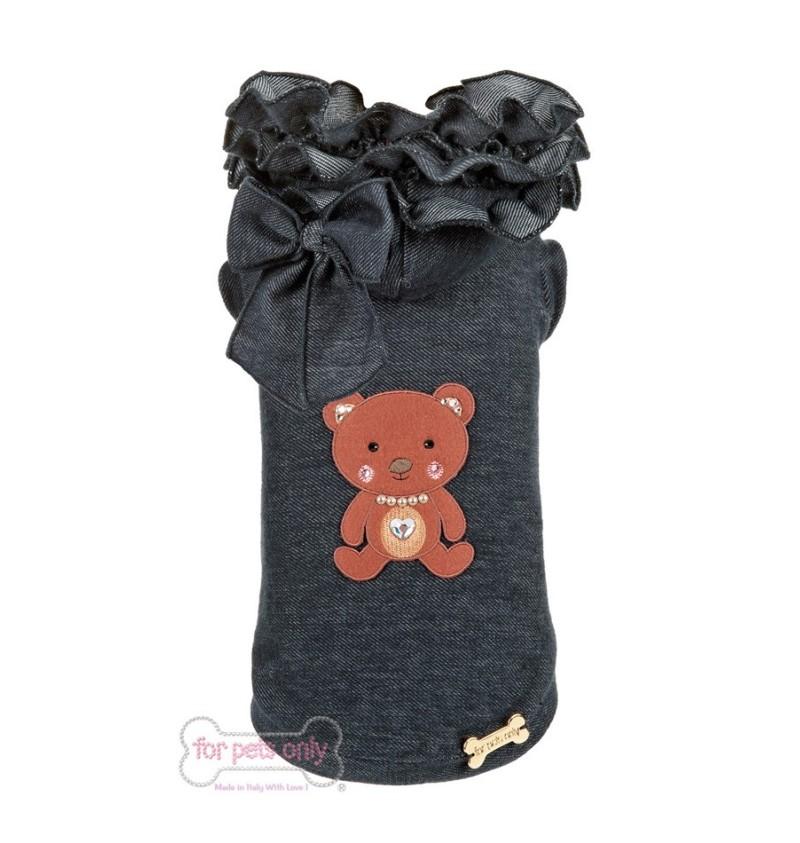 Ruffles Bear Jeans T-shirt