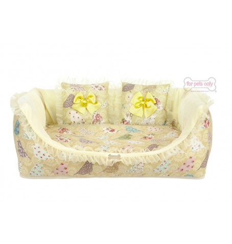 Birdie Cozy Sofa Yellow