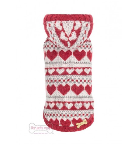 Lovely Hearts Red Pull