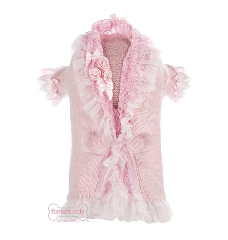 Coquette Cardigan Pink