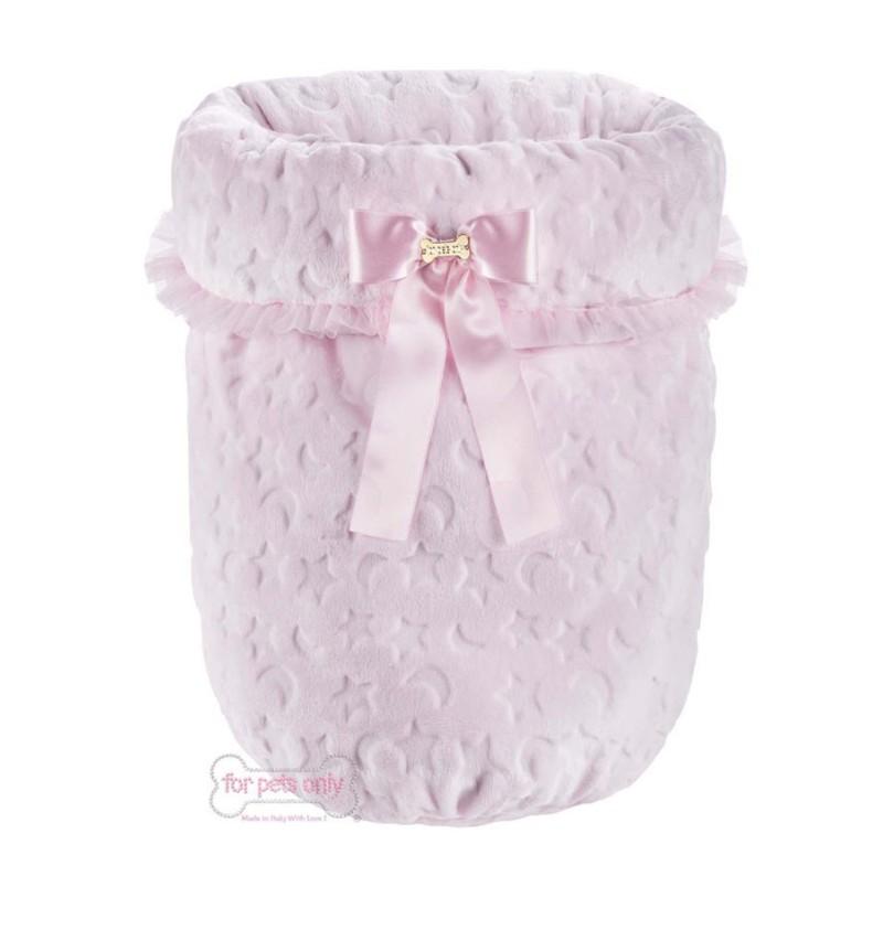 Good Night Sleeping Bed Pink