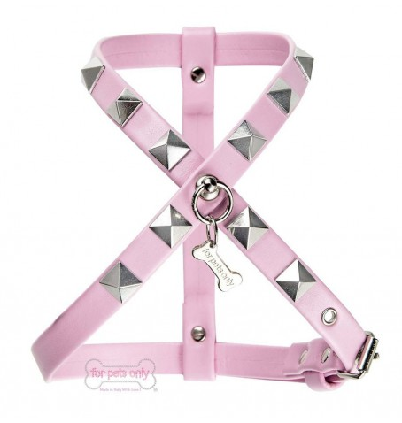 Chic And Stud Pink Harness