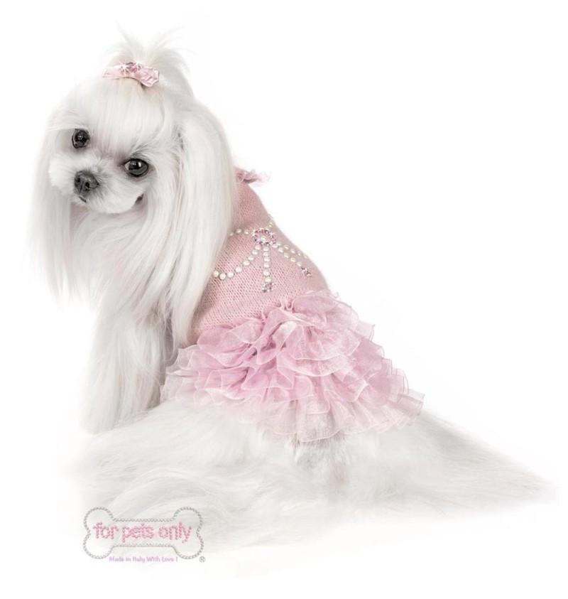 Ribbon Lace Pink Dress