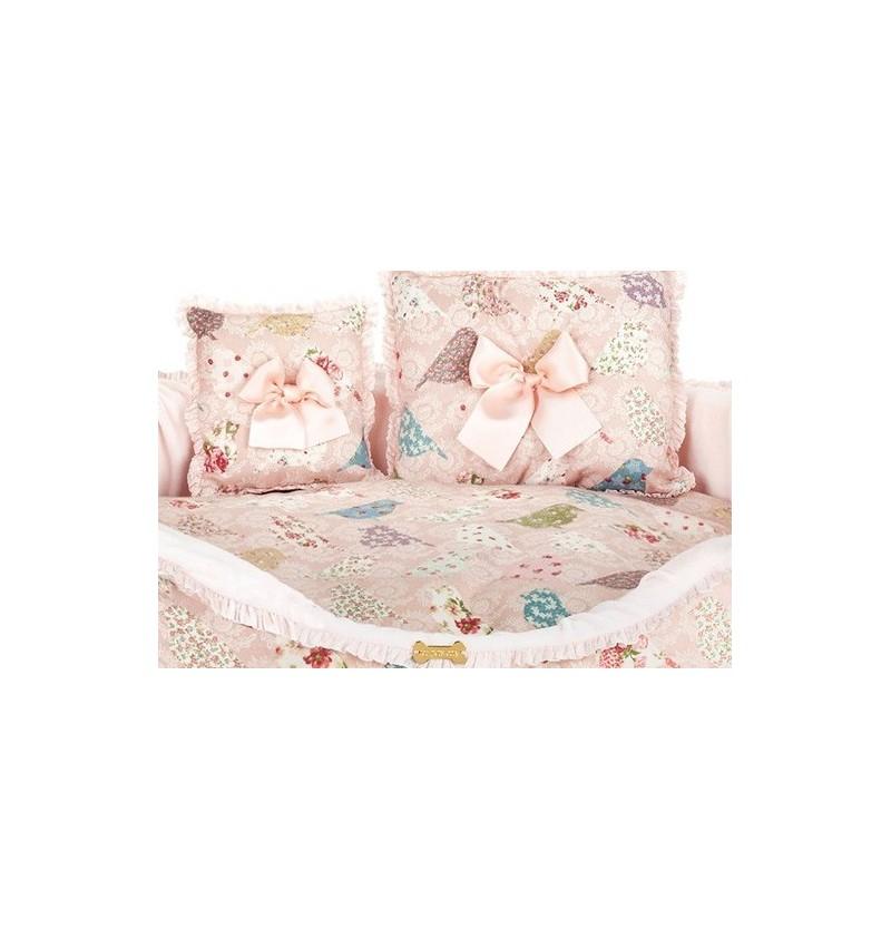 Just Cover Birdie Pink Sofa