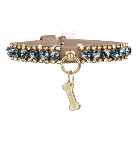 Angel's Diamond Collar Beige