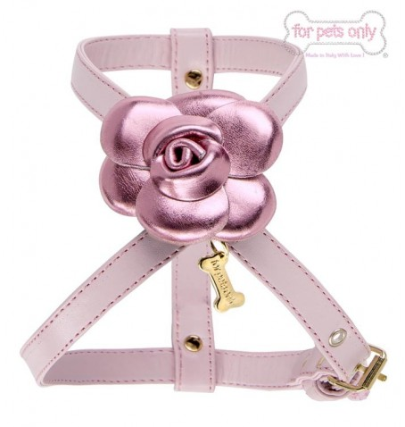 Pink Camelia Harness