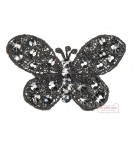 Black Butterfly Hairclip