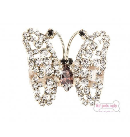 Butterfly Crystal  Hairclip