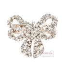 Bow Crystal Hairclip