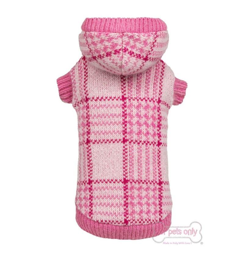Chic Britt Pink Tartan Pull