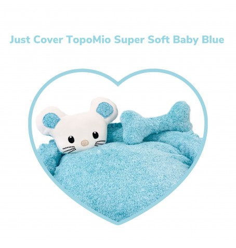 Just Cover TopoMio Super Soft Sofa Baby Blue