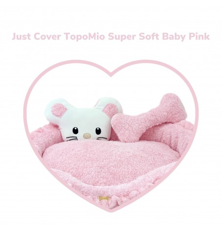 Just Cover TopoMio Super Soft Sofa Baby Pink
