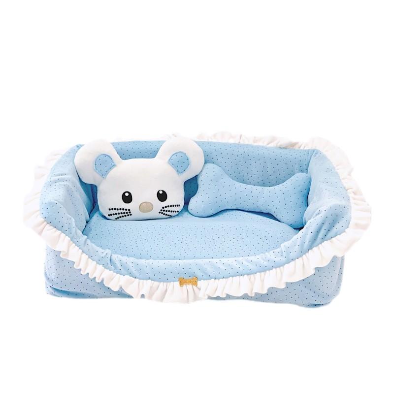 TopoMio Dotty Cozy Baby Blue