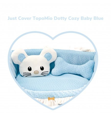 Just Cover TopoMio Dotty Sofa Baby Blue